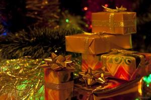 Gifts Christmas tree.