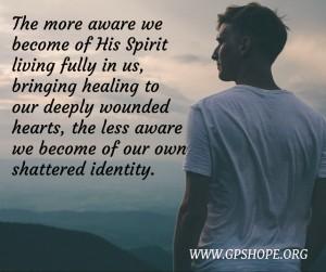3. aware of His Spirit