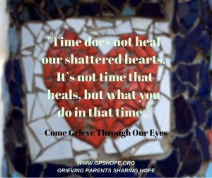 Time does not heal