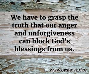 4.anger and unforgiveness
