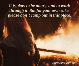 4. dont camp out at anger