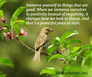 5. immerse in positivity