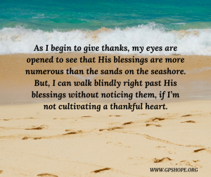 13. blessings as sands on the seashore