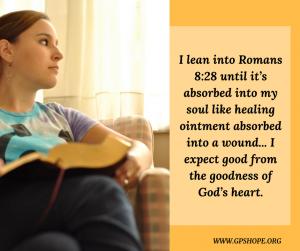 13. lean into Romans 8-18