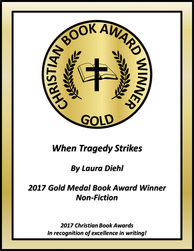 When Tragedy Strikes CBA Award Winning Certificate without cover Non-Fiction